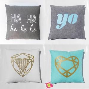 4 x LornaLove cushions