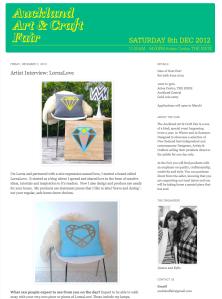 auckland art and craft fair press