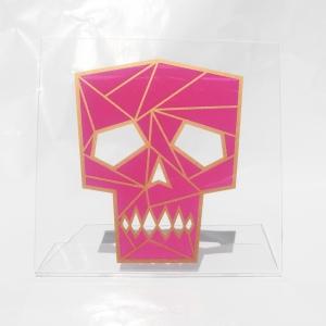 Acrylic art : skull